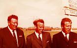3e generatie: Kees, Piet en Jan Lubbe