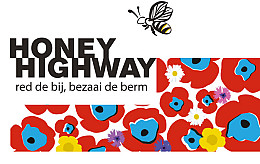 Lubbe Lisse works together with Honey Highway for flower-rich boroughs